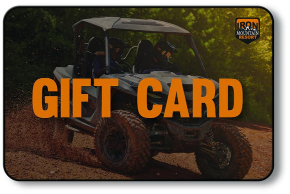 Iron Mountain Resort Gift Card