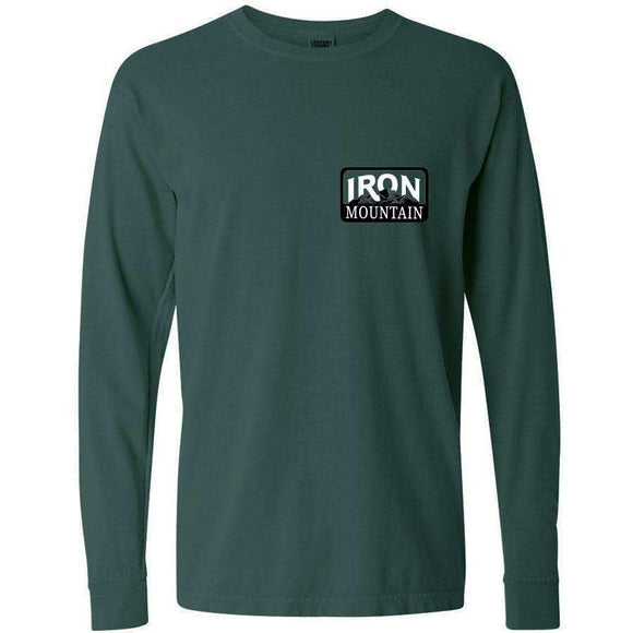 Iron Mountain Long Sleeve Logo Tee - Iron Mountain Resort