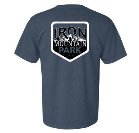 Iron Mountain Short Sleeve Logo Tee - Iron Mountain Resort