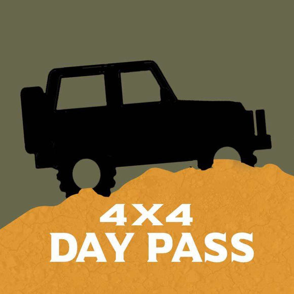 Jeep/4x4 Full Size Vehicle Park Pass