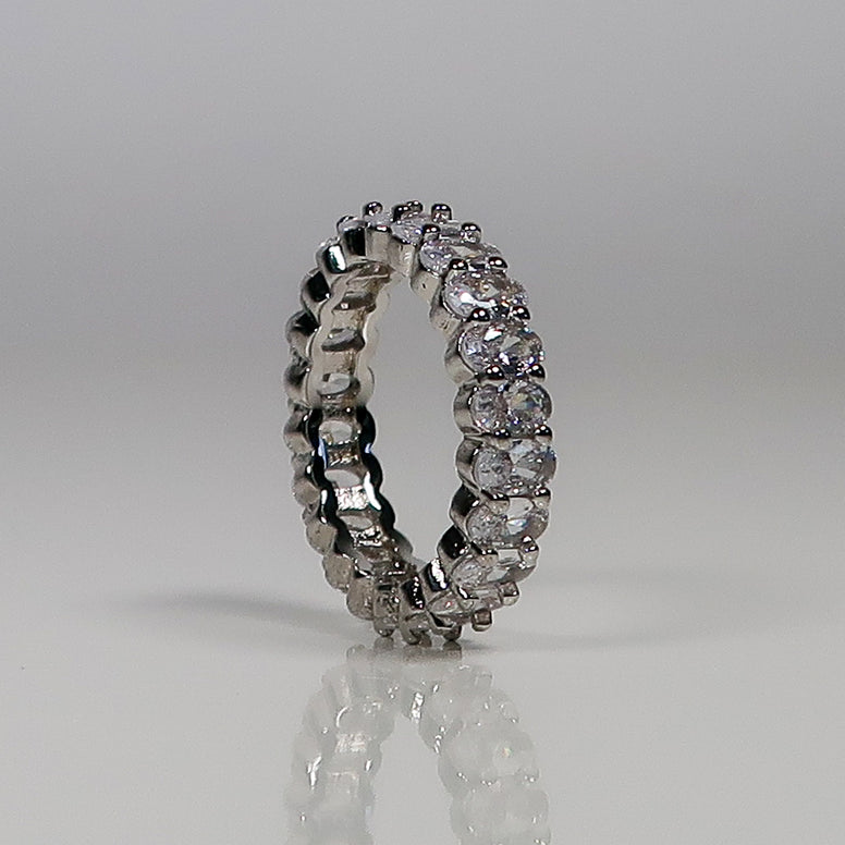 Samantha Eternity Ring - Silver