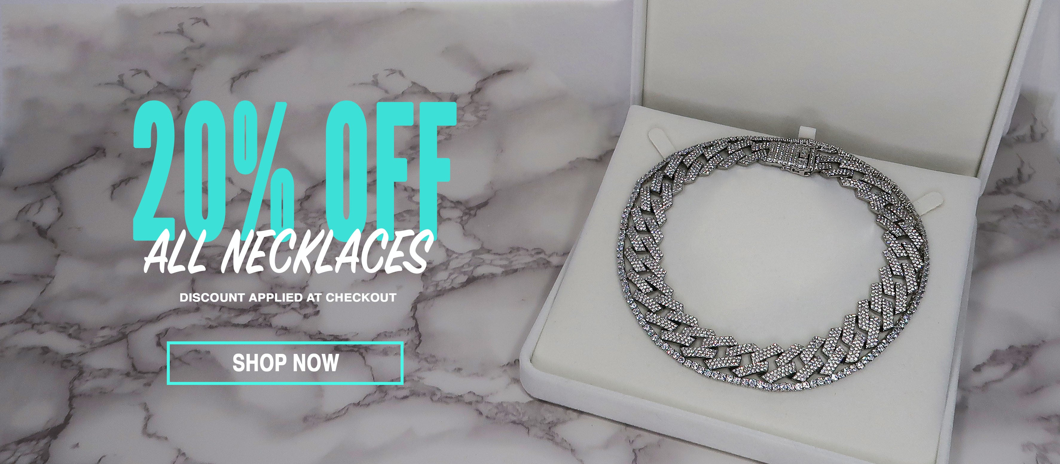 20% off necklaces