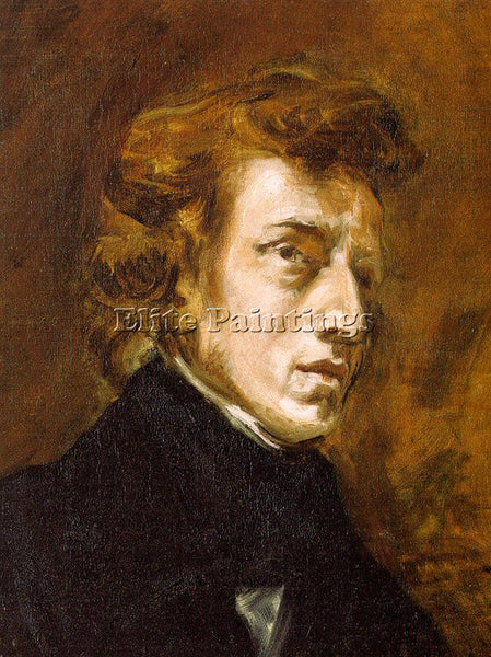 EUGENE DELACROIX 01CHOPIN ARTIST PAINTING REPRODUCTION HANDMADE OIL CANVAS REPRO