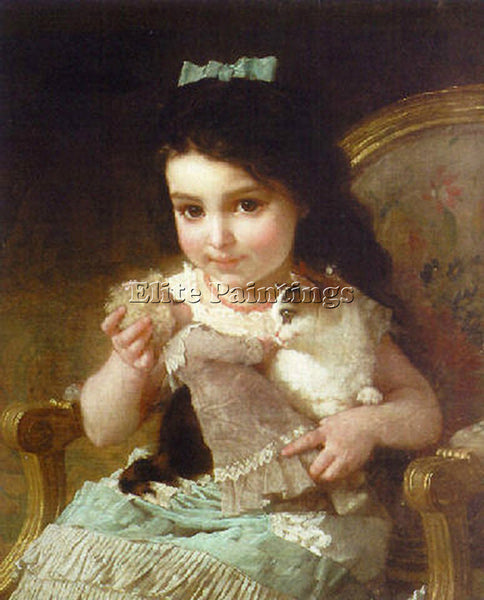 EMILE MUNIER 0FF203F0DC99 ARTIST PAINTING REPRODUCTION HANDMADE OIL CANVAS REPRO