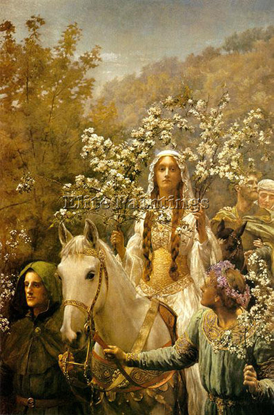 JOHN COLLIER COLL1 ARTIST PAINTING REPRODUCTION HANDMADE CANVAS REPRO WALL DECO