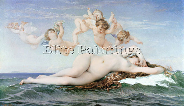 ALEXANDRE CABANEL CABA2 ARTIST PAINTING REPRODUCTION HANDMADE CANVAS REPRO WALL