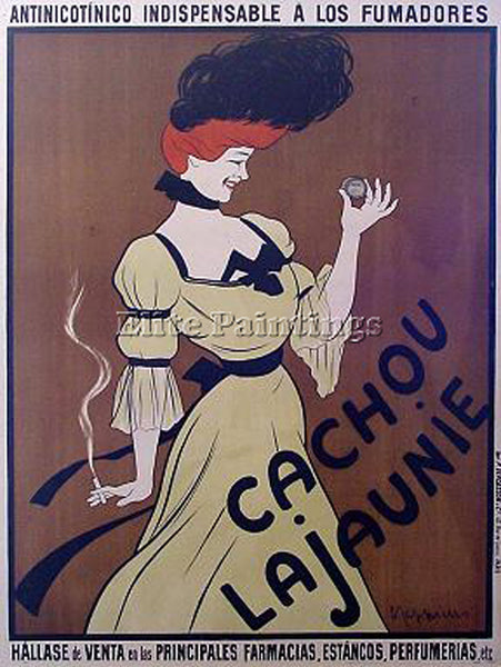 LEONETTO CAPPIELLO CAPP1 ARTIST PAINTING REPRODUCTION HANDMADE CANVAS REPRO WALL