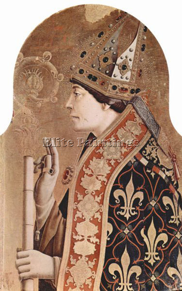 CARLO CRIVELLI CRIV2 ARTIST PAINTING REPRODUCTION HANDMADE OIL CANVAS REPRO WALL