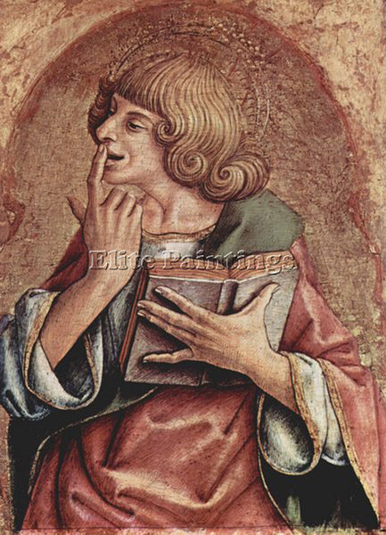 CARLO CRIVELLI CRIV5 ARTIST PAINTING REPRODUCTION HANDMADE OIL CANVAS REPRO WALL