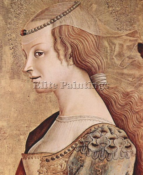 CARLO CRIVELLI CRIV9 ARTIST PAINTING REPRODUCTION HANDMADE OIL CANVAS REPRO WALL