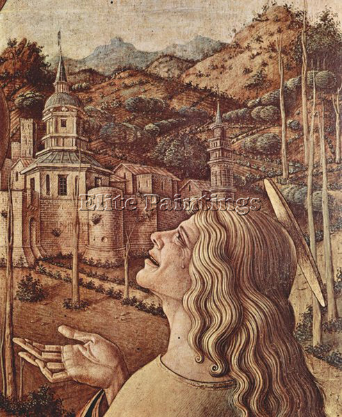 CARLO CRIVELLI CRIV10 ARTIST PAINTING REPRODUCTION HANDMADE OIL CANVAS REPRO ART
