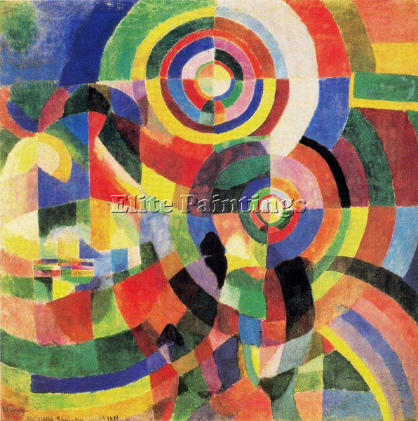 ROBERT DELAUNAY DELA1 ARTIST PAINTING REPRODUCTION HANDMADE OIL CANVAS REPRO ART