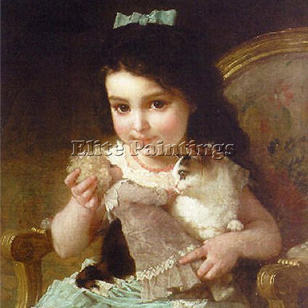 EMILE MUNIER 6 ARTIST PAINTING REPRODUCTION HANDMADE OIL CANVAS REPRO WALL  DECO