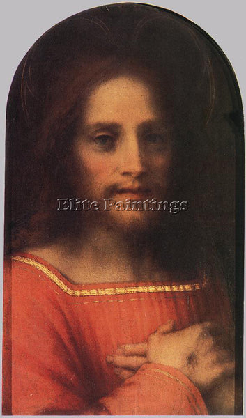 ANDREA DEL SARTO CHRIST THE REDEEMER ARTIST PAINTING REPRODUCTION HANDMADE OIL