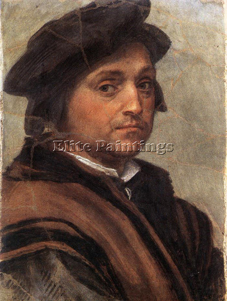 ANDREA DEL SARTO SELF PORTRAIT ARTIST PAINTING REPRODUCTION HANDMADE OIL CANVAS