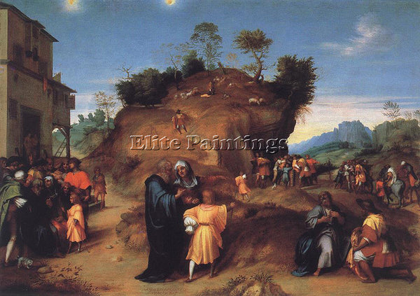 ANDREA DEL SARTO STORIES OF JOSEPH ARTIST PAINTING REPRODUCTION HANDMADE OIL ART