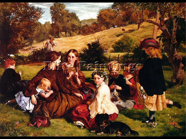 ARCHER JAMES 1860 SUMMERTIME GLOUCESTERSHIRE NATIONAL GALLERY SCOTLAND PAINTING