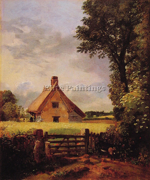 JOHN CONSTABLE A COTTAGE IN A CORNFIELD ARTIST PAINTING REPRODUCTION HANDMADE