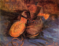 VAN GOGH A PAIR OF SHOES4 ARTIST PAINTING REPRODUCTION HANDMADE OIL CANVAS REPRO
