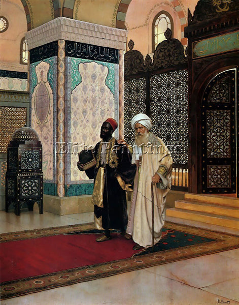 RUDOLF ERNST AFTER PRAYER ARTIST PAINTING REPRODUCTION HANDMADE OIL CANVAS REPRO