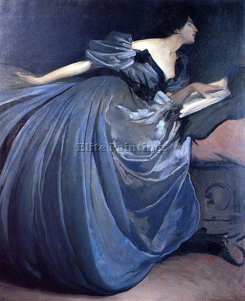 JOHN WHITE ALEXANDER ALTHEA ARTIST PAINTING REPRODUCTION HANDMADE OIL CANVAS ART