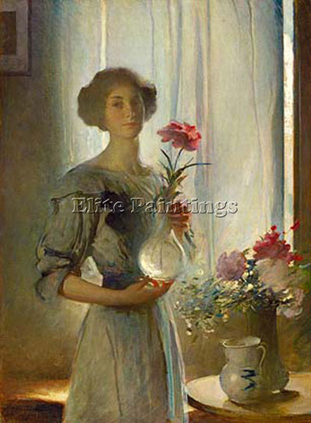 JOHN WHITE ALEXANDER JUNE ARTIST PAINTING REPRODUCTION HANDMADE OIL CANVAS REPRO