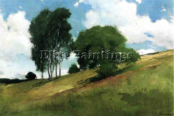 JOHN WHITE ALEXANDER LANDSCAPE PAINTED AT CORNISH NEW HAMPSHIRE ARTIST PAINTING