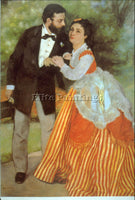 RENOIR ALFRED SISLEY ARTIST PAINTING REPRODUCTION HANDMADE OIL CANVAS REPRO WALL