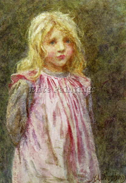 BRITISH ALLINGHAM HELEN POLLY ARTIST PAINTING REPRODUCTION HANDMADE CANVAS REPRO
