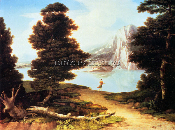 AMERICAN ALLSTON WASHINGTON LANDSCAPE WITH A LAKE ARTIST PAINTING REPRODUCTION