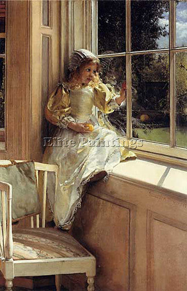 BRITISH ALMA TADEMA LAURA SUNSHINE ARTIST PAINTING REPRODUCTION HANDMADE OIL ART