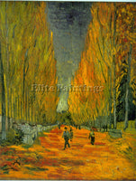 VAN GOGH ALYSCAMPS ARTIST PAINTING REPRODUCTION HANDMADE CANVAS REPRO WALL DECO