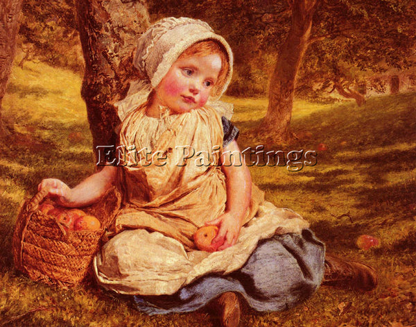SOPHIE GENGEMBRE ANDERSON GENGEMBRE WINDFALLS ARTIST PAINTING REPRODUCTION OIL