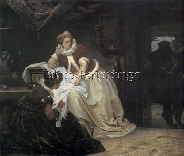 AUSTRALIAN ANNE OF DENMARK AND JAMES VI OF SCOTLAND ARTIST PAINTING REPRODUCTION