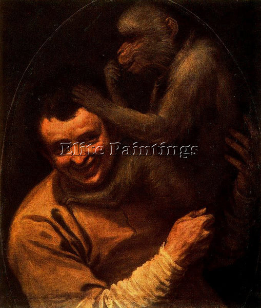 ANNIBALE CARRACCI CARR22 ARTIST PAINTING REPRODUCTION HANDMADE CANVAS REPRO WALL