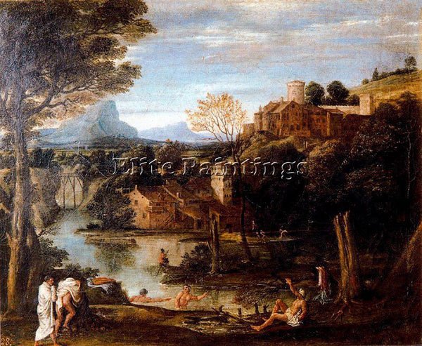 ANNIBALE CARRACCI CARR25 ARTIST PAINTING REPRODUCTION HANDMADE CANVAS REPRO WALL