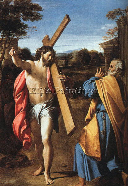 ANNIBALE CARRACCI CARR29 ARTIST PAINTING REPRODUCTION HANDMADE CANVAS REPRO WALL