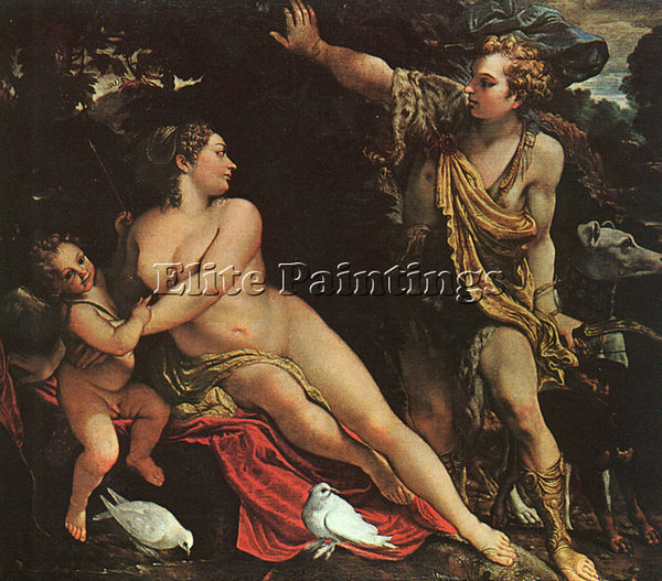 ANNIBALE CARRACCI CARR34 ARTIST PAINTING REPRODUCTION HANDMADE CANVAS REPRO WALL