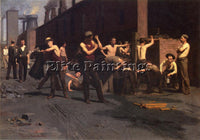 THOMAS POLLOCK ANSCHUTZ THE IRONWORKER S NOONTIME ARTIST PAINTING REPRODUCTION