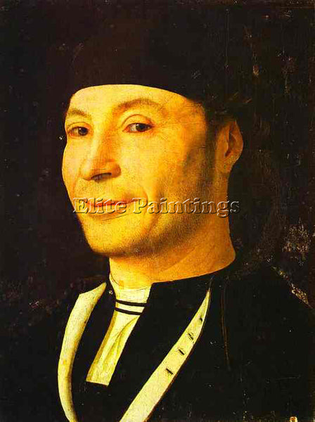 ANTONELLO DA MESSINA ADM13 ARTIST PAINTING REPRODUCTION HANDMADE OIL CANVAS DECO