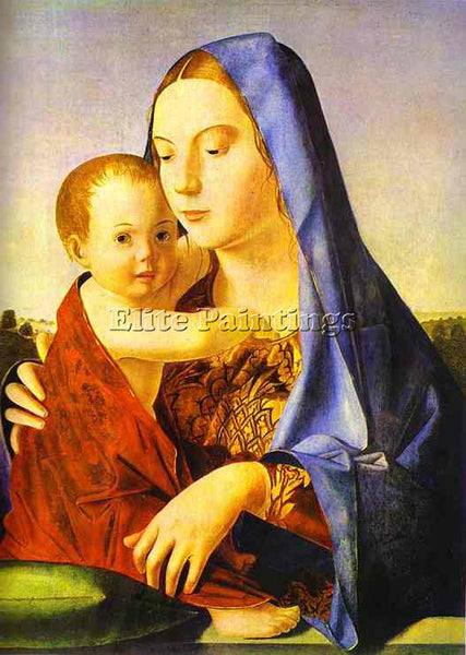 ANTONELLO DA MESSINA ADM17 ARTIST PAINTING REPRODUCTION HANDMADE OIL CANVAS DECO