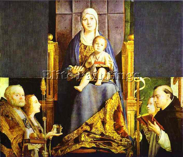 ANTONELLO DA MESSINA ADM18 ARTIST PAINTING REPRODUCTION HANDMADE OIL CANVAS DECO
