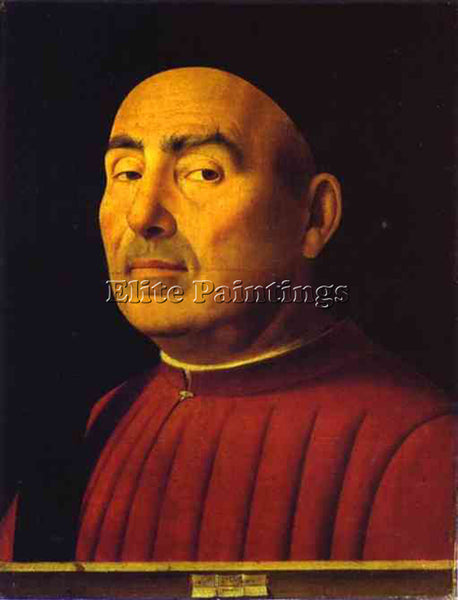 ANTONELLO DA MESSINA ADM1 ARTIST PAINTING REPRODUCTION HANDMADE OIL CANVAS REPRO