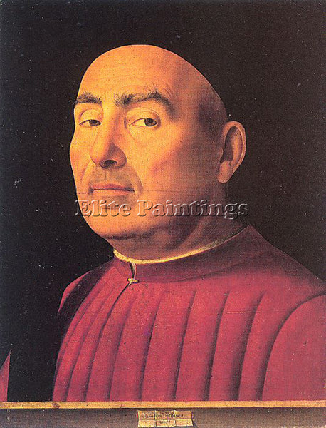 ANTONELLO DA MESSINA ADM2 2 ARTIST PAINTING REPRODUCTION HANDMADE OIL CANVAS ART