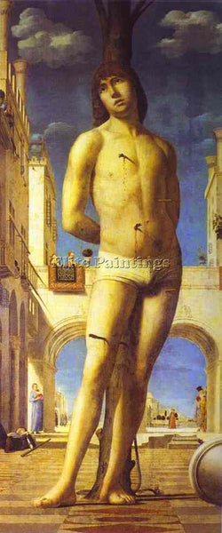 ANTONELLO DA MESSINA ADM2 ARTIST PAINTING REPRODUCTION HANDMADE OIL CANVAS REPRO