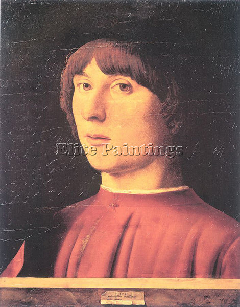 ANTONELLO DA MESSINA ADM6 2 ARTIST PAINTING REPRODUCTION HANDMADE OIL CANVAS ART