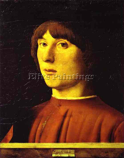 ANTONELLO DA MESSINA ADM6 ARTIST PAINTING REPRODUCTION HANDMADE OIL CANVAS REPRO