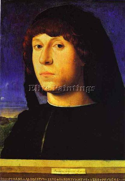 ANTONELLO DA MESSINA ADM7 ARTIST PAINTING REPRODUCTION HANDMADE OIL CANVAS REPRO