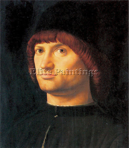 ANTONELLO DA MESSINA ADM9 2 ARTIST PAINTING REPRODUCTION HANDMADE OIL CANVAS ART
