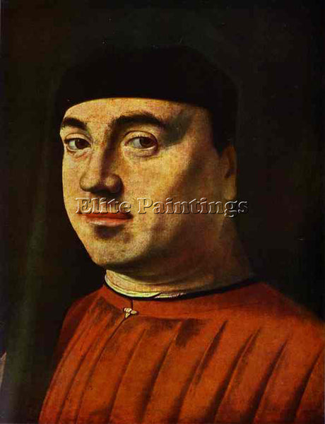 ANTONELLO DA MESSINA ADM9 ARTIST PAINTING REPRODUCTION HANDMADE OIL CANVAS REPRO